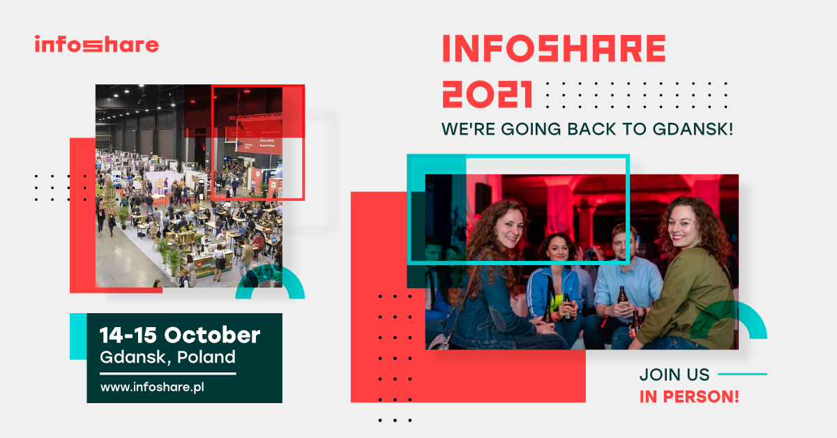 Infoshare - the biggest tech conference in CEE