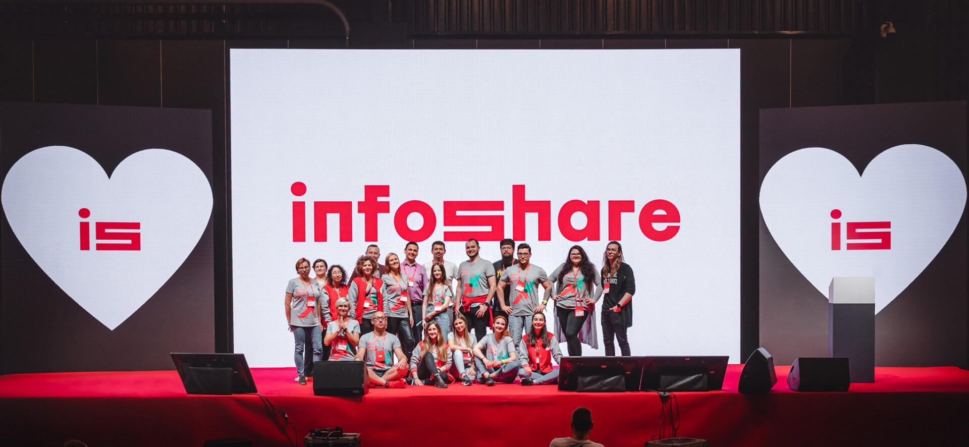 is team on stage