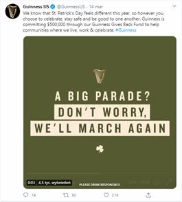 Guinness Twitter