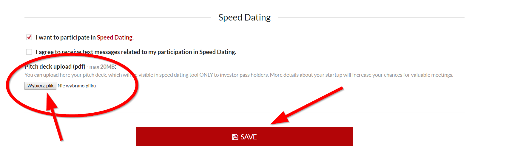 Speed-Dating-Format